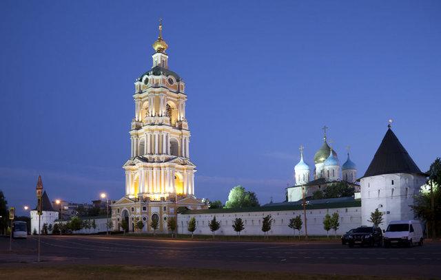 Новоспасский мужской монастырь,