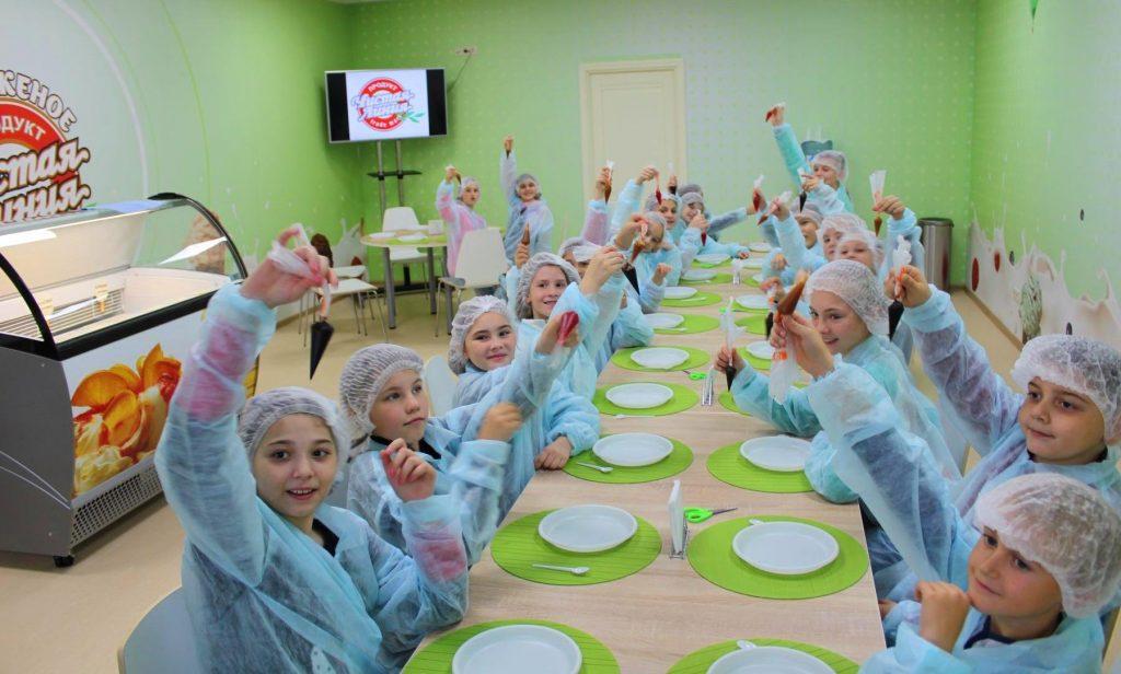 Тур в Москву на фабрику мороженого