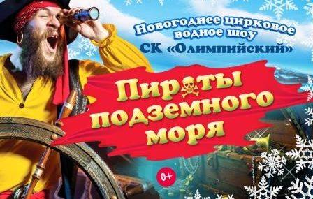 Новогоднее цирковое водное шоу «Пираты подземного моря»