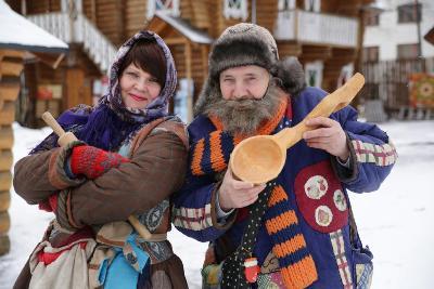 В Гости к Снегурочке и Деду Морозу-Мастеру