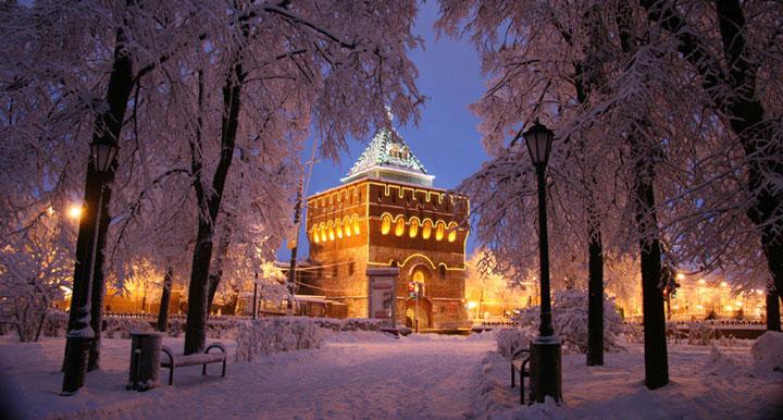 Тур на Рождество в Нижнем Новгороде