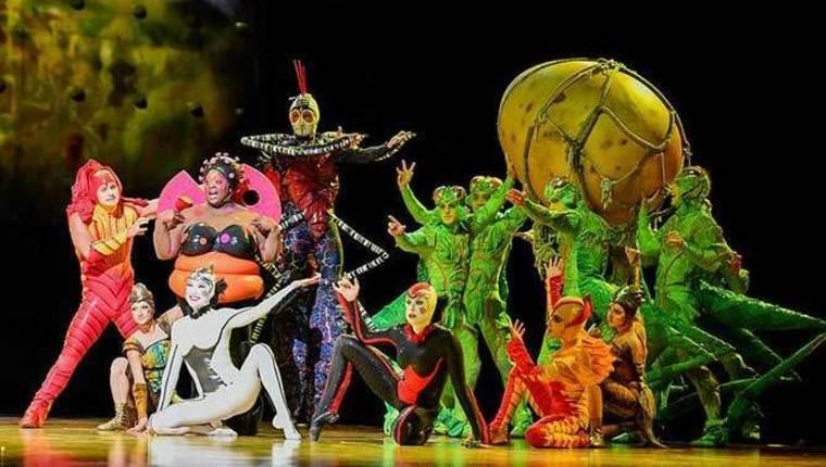 Цирк дю Солей OVO Гастрольный тур в России 2018