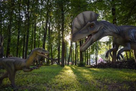 Путешествие в город динозавров + колесо обозрения (Ярославль)