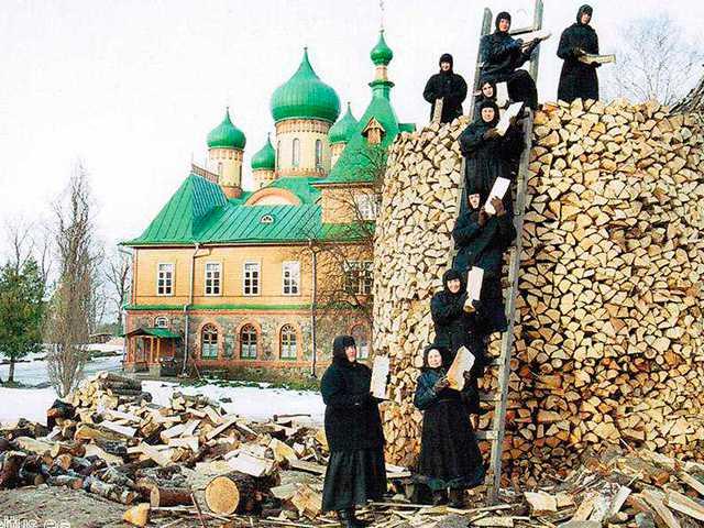 Паломничество по РФ в Марте