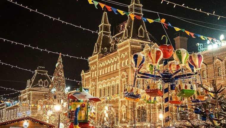 «Огни новогодней Москвы»