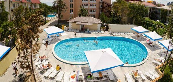 Гостиница «Камелия - Кафа» Крым Коктебель